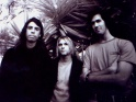 Nirvana, zleva Dave Grohl,  Kurt Cobain, Chris Novoselic,1992