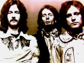 Cream, zleva Eric Clapton, Ginger Baker a Jack Bruce, 1968
