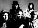 Jethro Tull, zleva John Evan, Jeffrey Hammond-Hammond, Ian Anderson, Barriemore Barlow a Martin Barre, cca  1. pol. 70. let